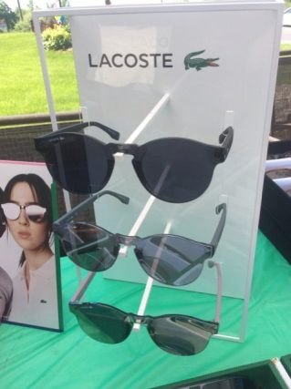 Sunglasses Display at trunk show in Freelton, ON