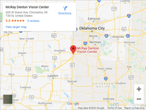 McRay Denton Vision Center Google Maps (1)