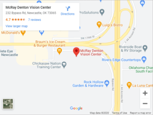 McRay Denton Vision Center Google Maps