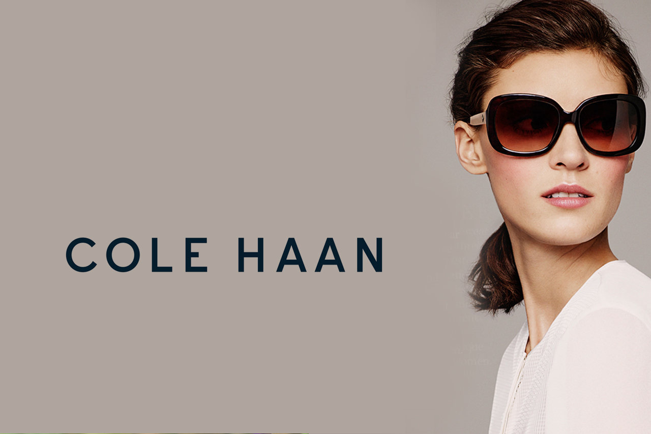 Cole Haan at EYECenter Optometric in the Sacramento Valley