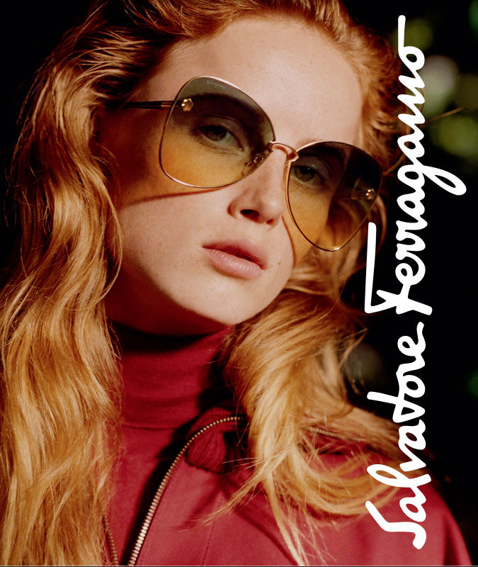 Ferragamo Eyewear at EYECenter Optometric in the Sacramento Valley, CA