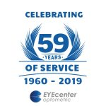 celebrating 59 years logo
