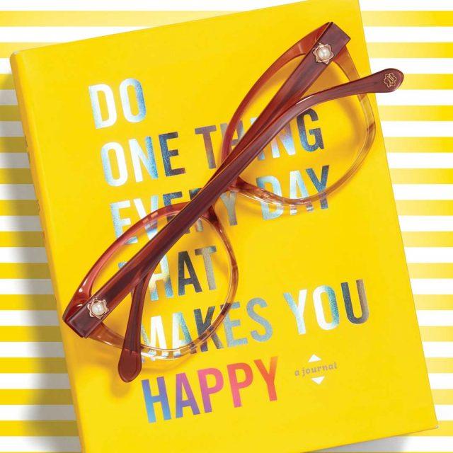 Draper James Glasses on a Yellow Book 640x640