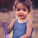 eye exam, cute child girl in Citrus Heights, California