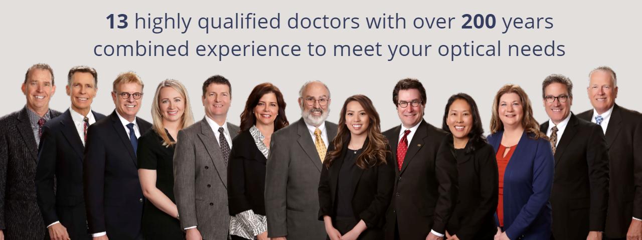 Doctors at Eye Center Optometric