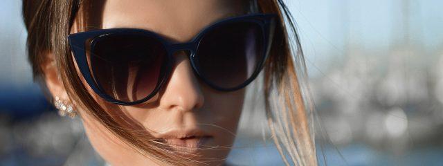 Woman wearing Designer Sunglass Frames in Richmond Hill, ON