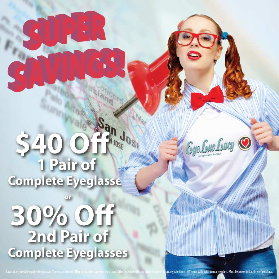Affordable Eyeglasses in Willow Glen, San Jose
