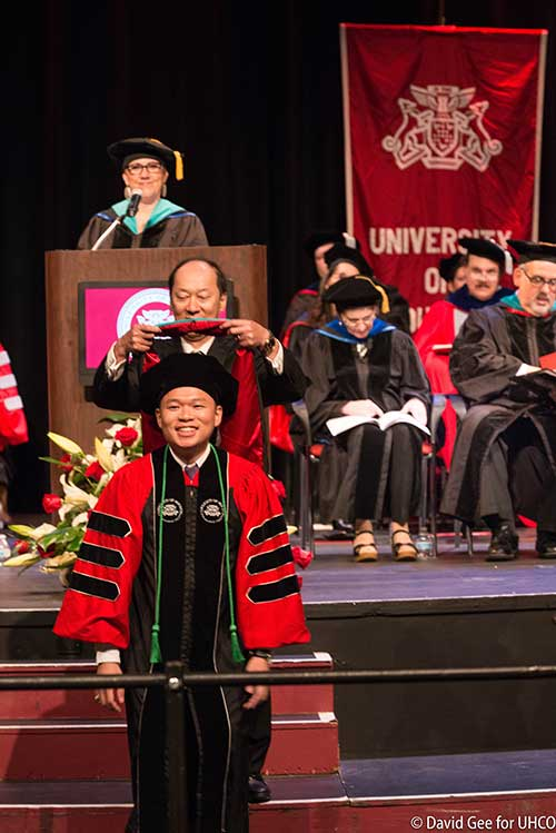 2018 UHCO Commencement Ryan Yeung
