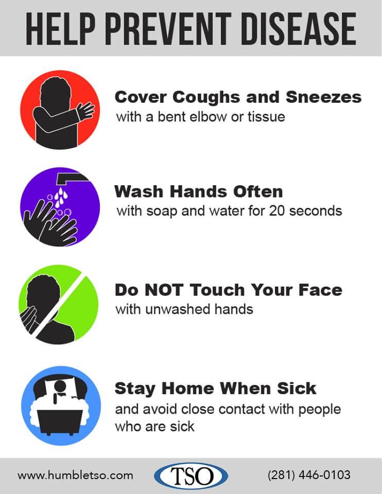 tso prevent disease poster