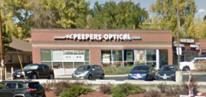 Peepers Optical entrance
