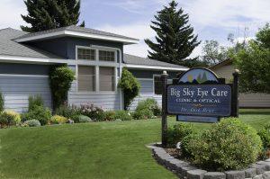 Exterior of Big Sky Eye Care in Hamilton, MT