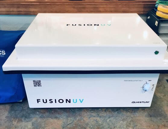 Fusion UV for disinfecting glasses in Hamilton, Montana