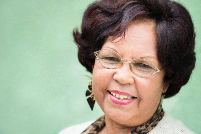 Hispanic senior woman in Irving, TX
