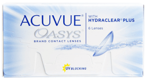 ACUVUE® OASYS® Brand Contact Lenses with HYDRACLEAR® PLUS Technology