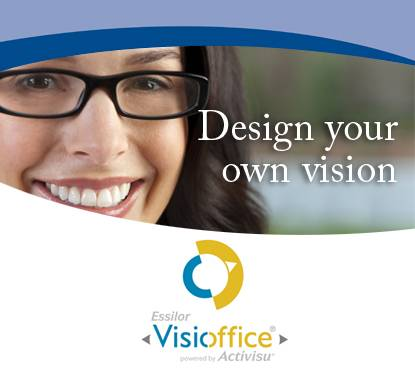 Lenses made just for you with VisiOffice!