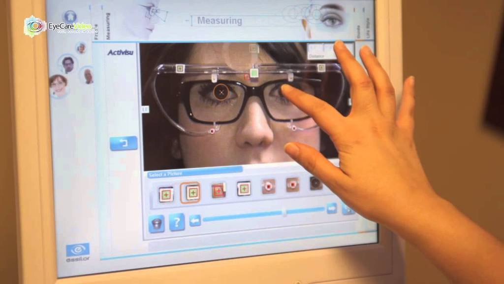 VisiOffice gives precise measurements to give you the best eyewear!