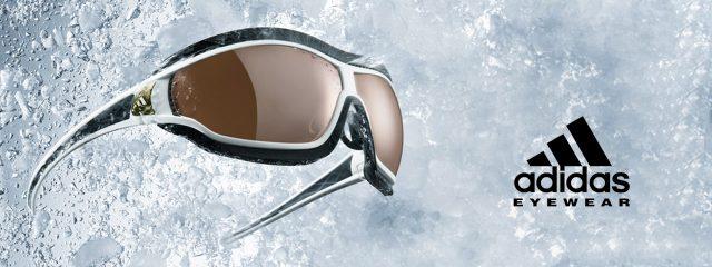 Eye doctor, pair of Adidas sunglasses in Burlington, Massachusetts,