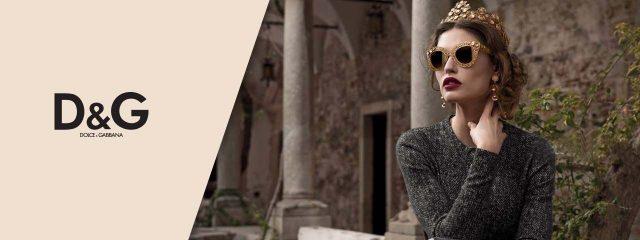 Eye doctor, Woman wearing Dolce & Gabbana sunglasses in Burlington, Massachusetts
