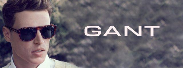 Eye doctor, Man wearing Gant sunglasses in Burlington, Massachusetts