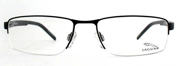 Optometrist, pair of Jaguar eyeglasses in Burlington, Massachusetts