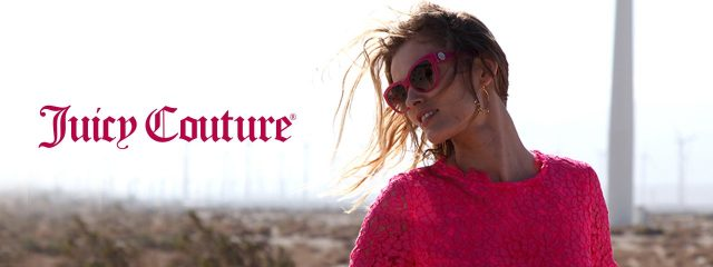 Optometrist, woman  wearing Juicy Couture sunglasses in Burlington, Massachusetts