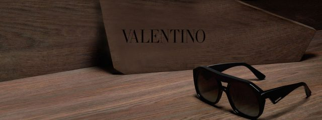 Optometrist, pair of Valentino Sunglasses in Burlington, Massachusetts