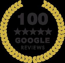100 Reviews Black