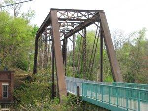Clarksville TN hiking bridge