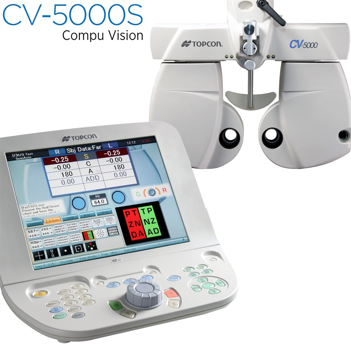 Advanced Technology CV-5000S Autophoropter eye exam