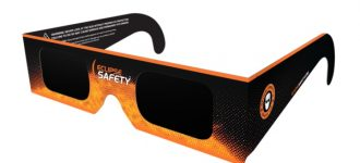Eyeglasses for eclipse protection