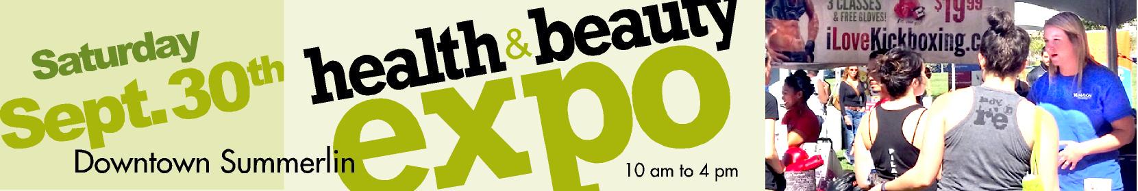 Health Expo Banner