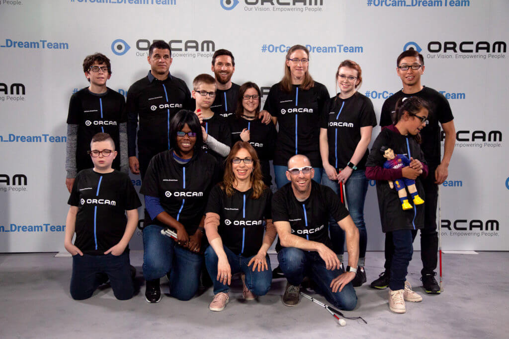 OrCam Dream Team