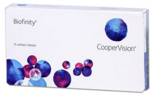 Biofinity is a monthly disposable lens manufactured by CooperVision.