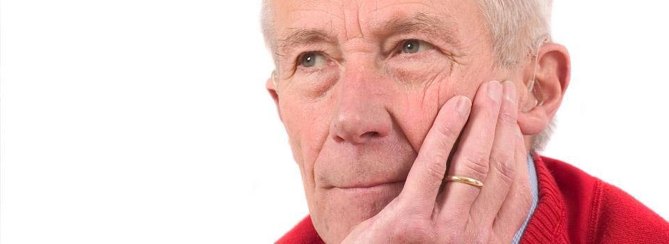 Man With Diabetic Eye Disease