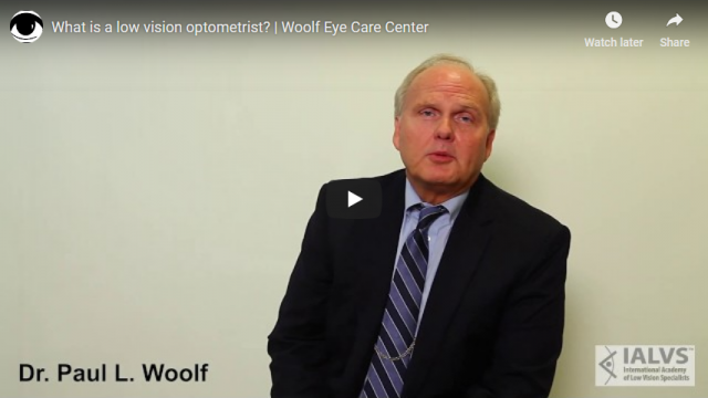 Screenshot 2019 06 17 What is a low vision optometrist Woolf Eye Care Center YouTube