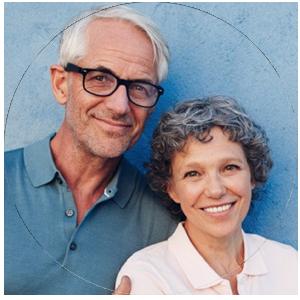 Senior citizen couple in Garden Grove, CA