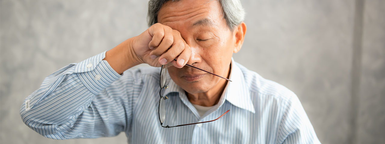Dry Eye Asian Man 1280×480