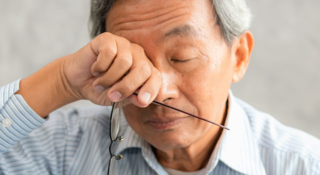 Dry Eye Asian Man 640×350