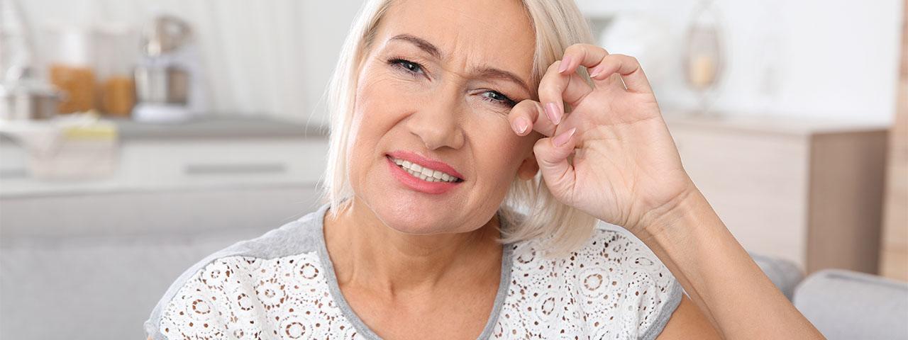 Dry Eye Senior Woman 1280×480