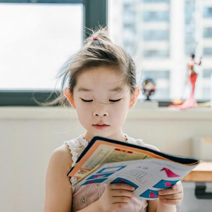 girl reading book 2 640