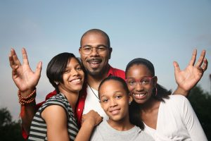 family AA family nature 4 people 1280