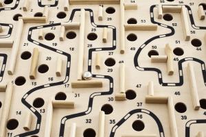 Coleman Vision - Wooden maze