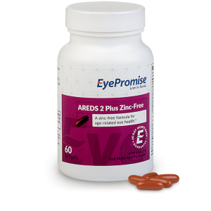 EyePromise AREDS 2 Zinc Free Eye Health Supplement