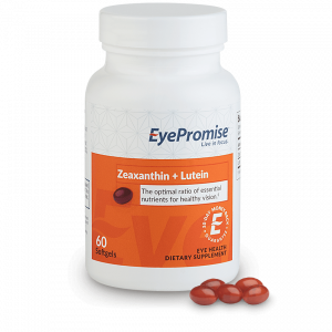 EyePromise Zeaxanthin Lutein Eye Health Supplement