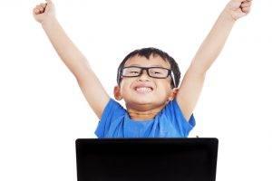 technology-boy-asian-hands-up