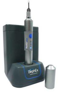 BlephEx machine for treating blepharitis at our UTC eye care clinic
