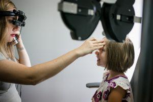 Dr, Shrayman giving eye exam near you in Verona