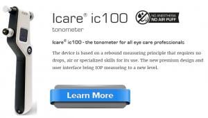 Icare ic100 tonometer learn more no air puff