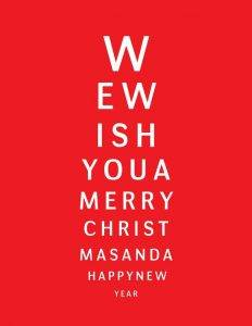 Holiday Greeting from Martin Street Optometry