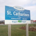 Place sign, St. Catharines, Ontario